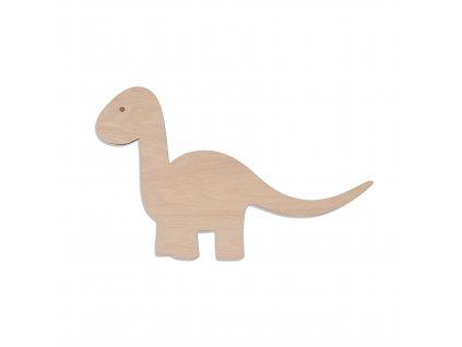 Dino lamp wood
