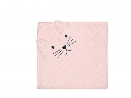 KINDSGUT dětská osuška růžová kočička