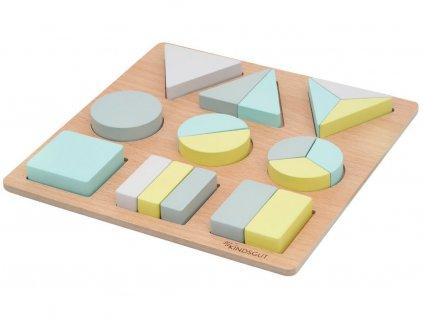 KINDSGUT dřevěné puzzle Greta