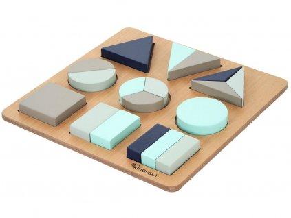 KINDSGUT dřevěné puzzle Lucas