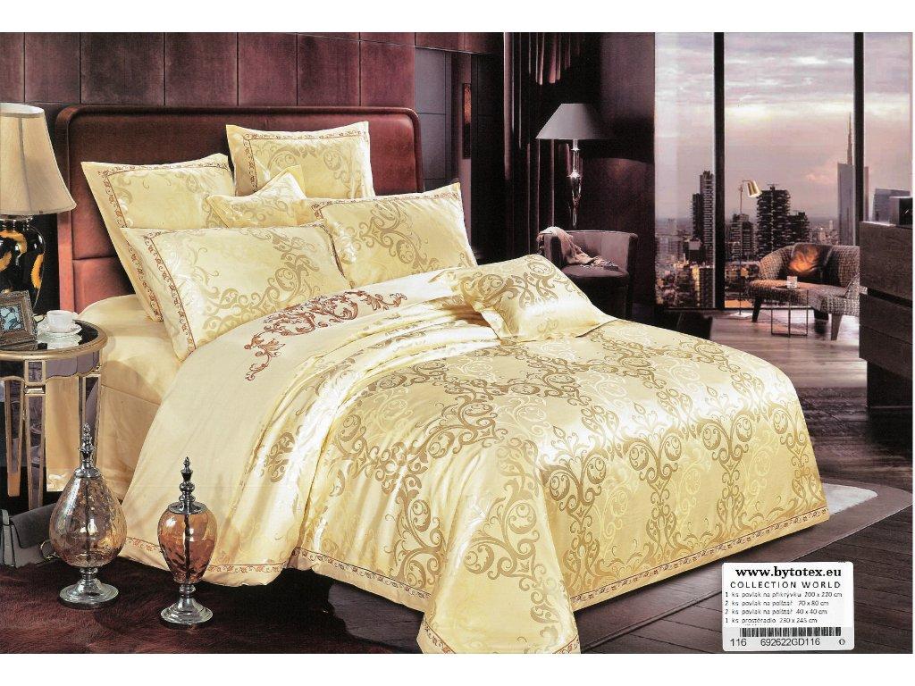Luxusní ložní povlečení Cleopatra 200 X 220 cm 70 X 80 cm