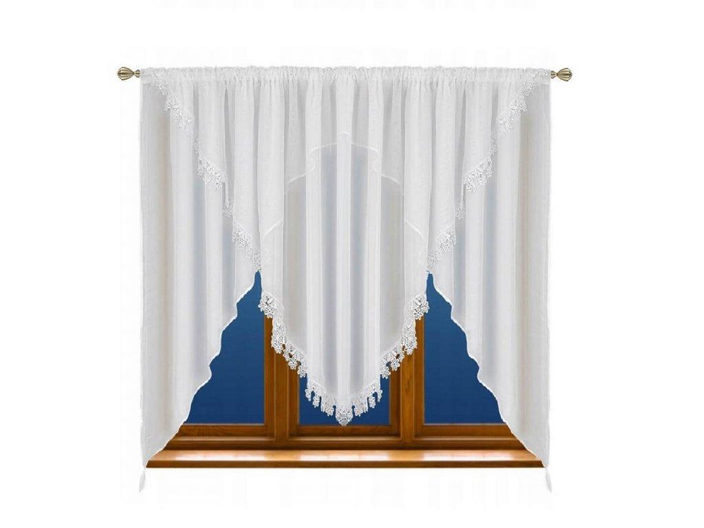 LG5 Hotová voálová záclona Monika 400x150 cm