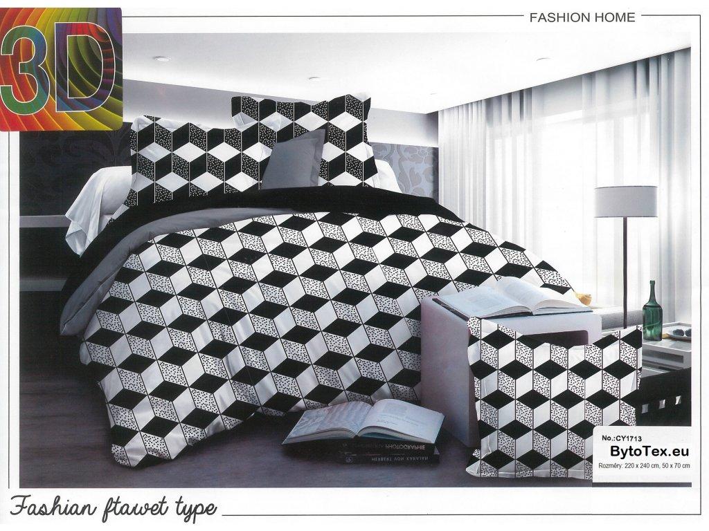 Luxusní přehoz na postel Rhombuses, 220x240 cm