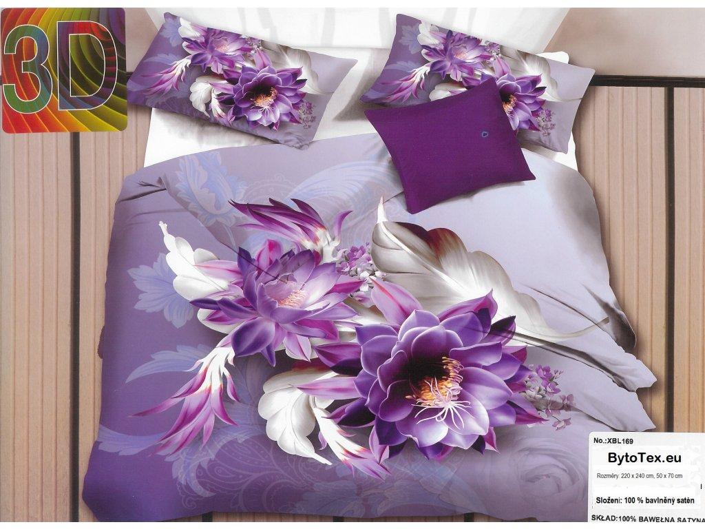 Luxusní prošívaný přehoz na postel Violet, 220x240 cm