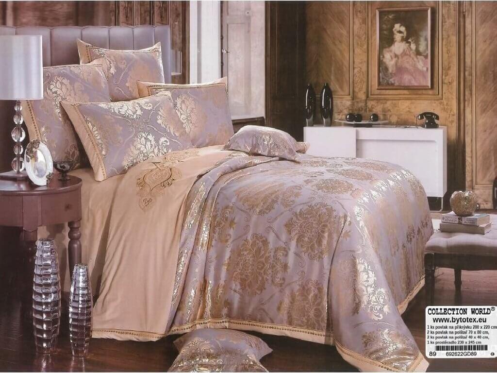 Luxusní ložní povlečení Diana 200 X 220 cm 70 X 80 cm