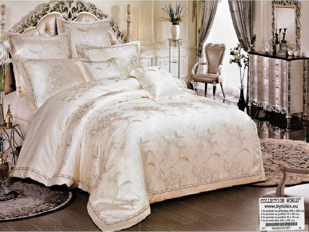 Luxusní ložní povlečení Jasmina 200 X 220 cm 70 X 80 cm