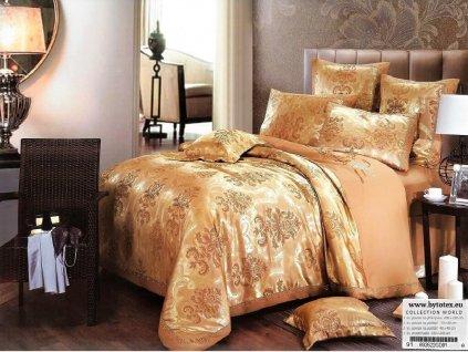 Luxusní ložní povlečení  Vanessa 200 X 220 cm 70 X 80 cm