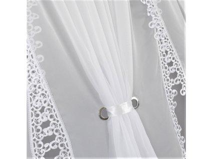 001 3 Hotová kusová záclona Monika 600x150 cm