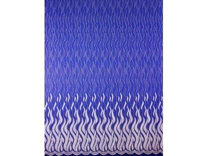 Záclona metrážová - Sklo bílá, výška 160 cm
