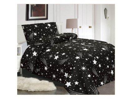 Ložní povlečení - Hvězdy 140x200 cm 70x90 cm