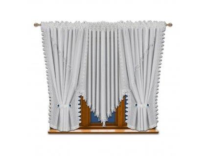 Voálová kusová záclona Monika 500x150 cm