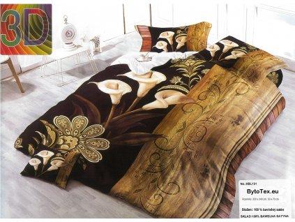 Luxusní prošívaný přehoz na postel Callas, 220x240 cm