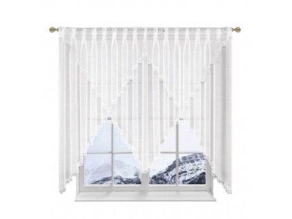 085 Hotová voálová záclona Monika 400x150 cm
