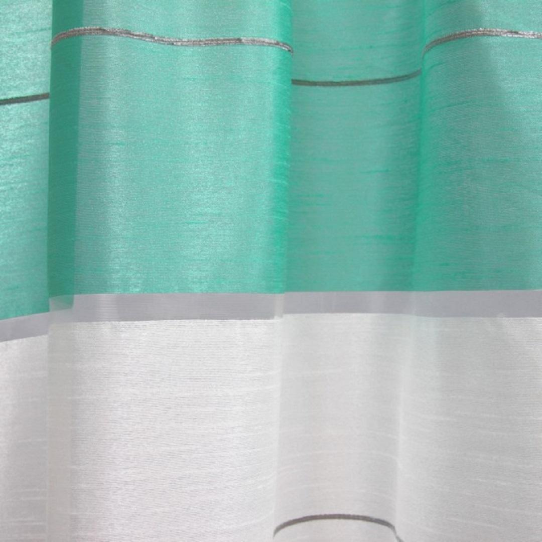 BytoTex Hotová kusová záclona-Simona modrá 300x160 cm