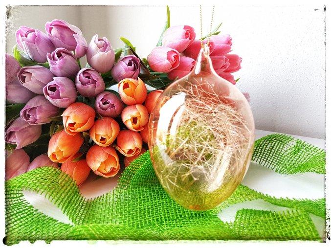 Vajíčko bronzové s vlákny