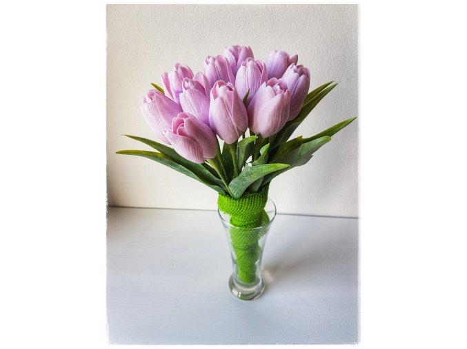 Tulipán světle růžový