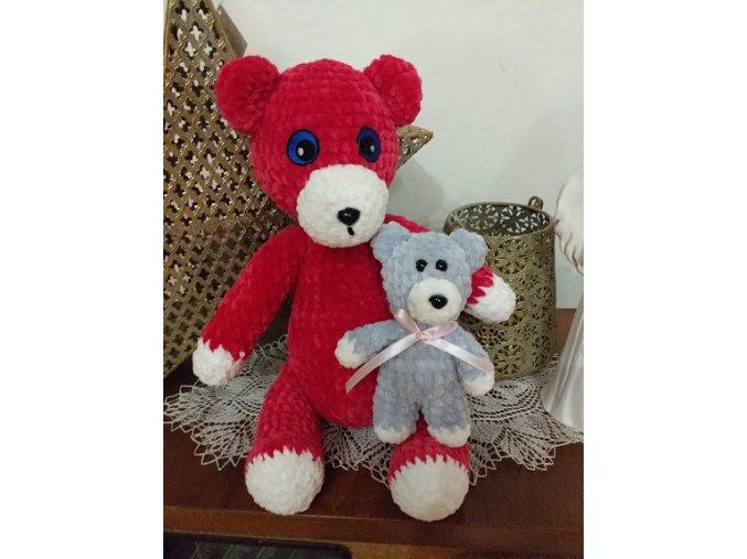 Medvídek červený 35cm