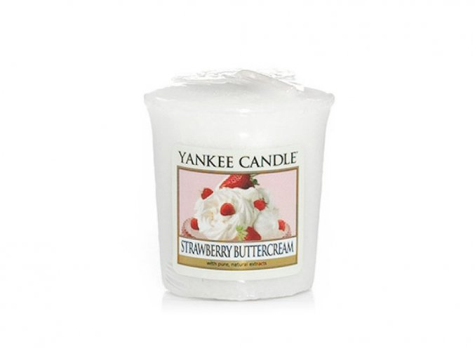 6581 6581 yankee candle votivni svicka strawberry buttercream
