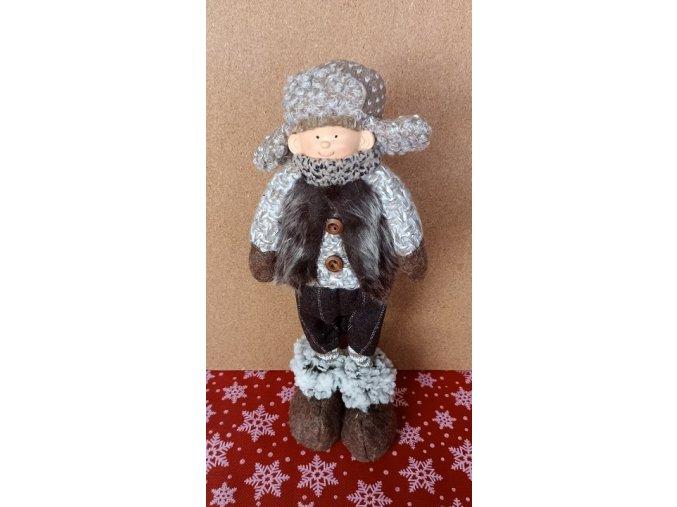 Vánoční stojící panenka v ušance