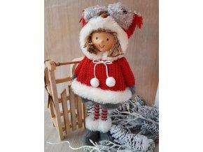 Zimní panenka, 36 cm