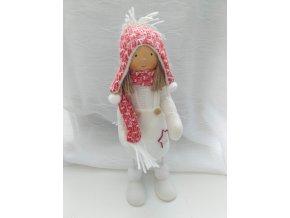 Vánoční panenka v sukni 35cm