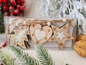 Vánoční dekorace - sada