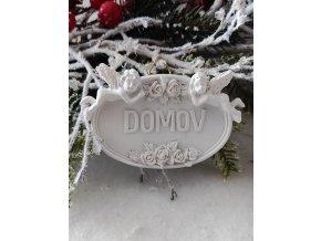 Cedulka DOMOV