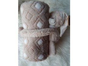 Méďa s dekou, dárková sada