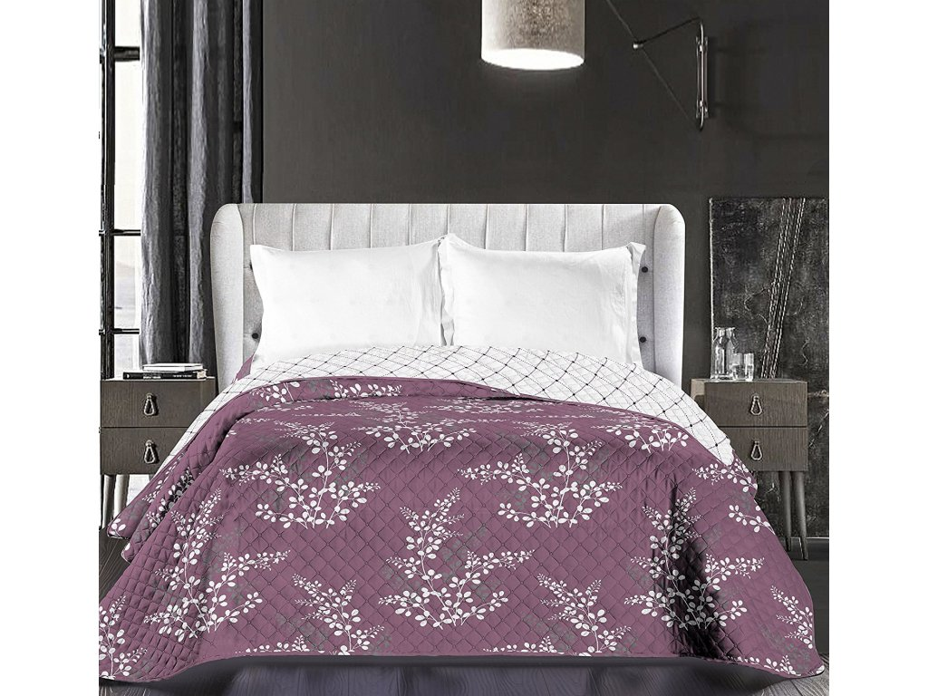 Oboustranný přehoz na postel  HYPNOSIS CALLUNA -  220x240cm
