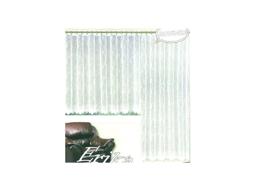 Hotová záclona nebo balkonový komplet Erika 320 x 160cm balkonovka 200 x 250cm