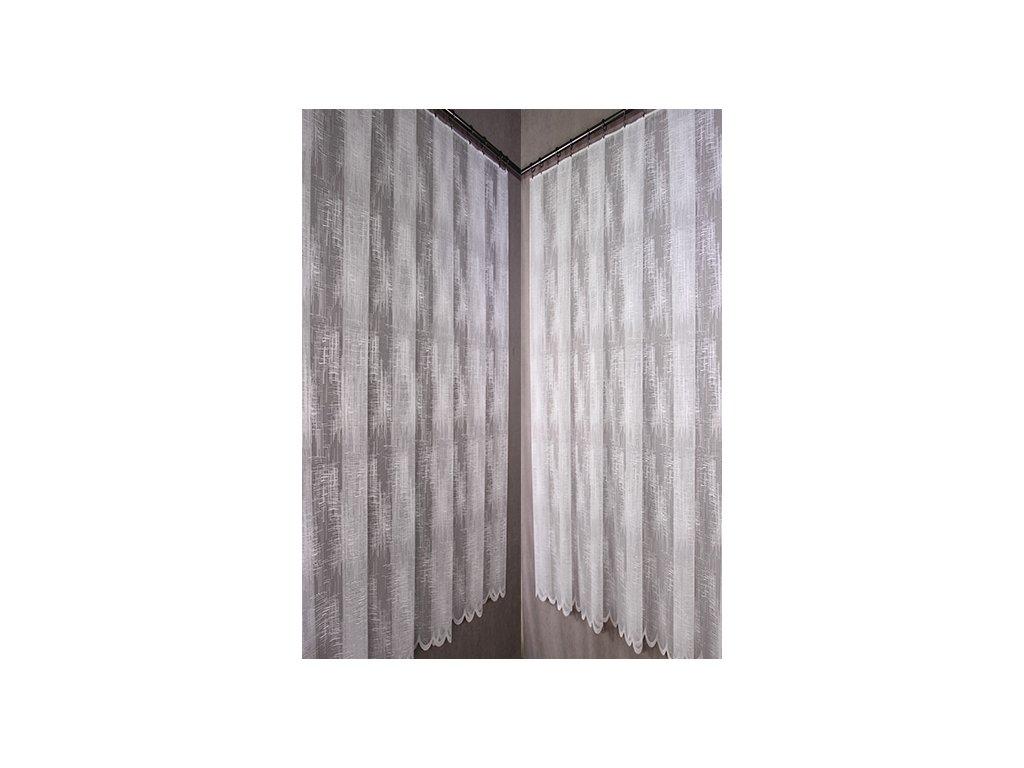 Bytovyshop záclona Adéla metráž  Metrážová žakarová záclona