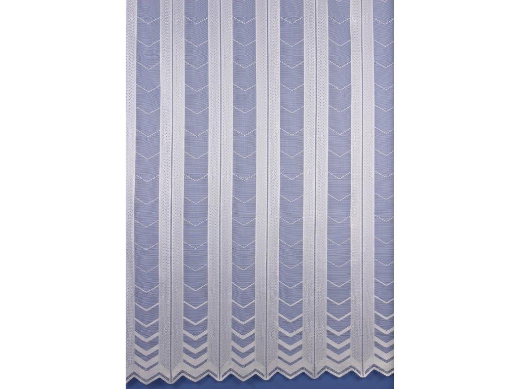Metrážová záclona bílá M23176