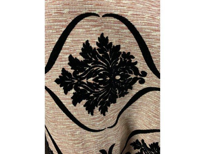Potahová látka Gobelín 1765 černa