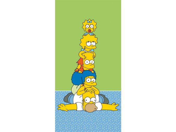 the simpsons family tower osuska 1