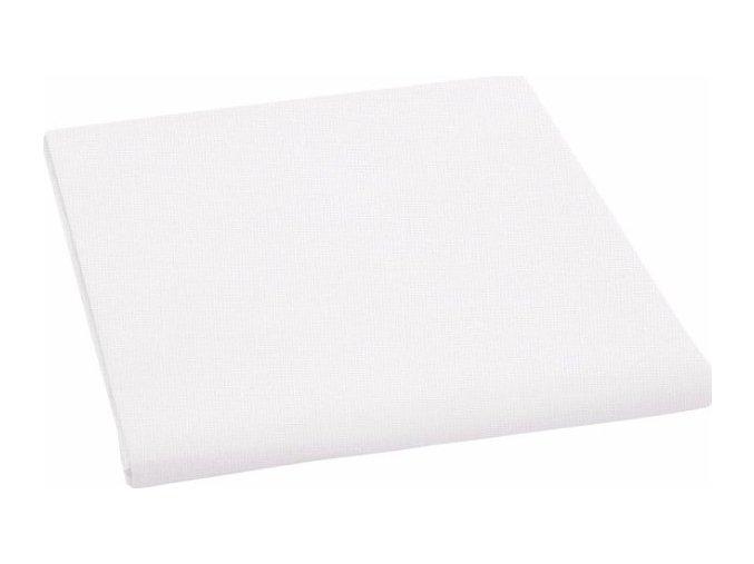 Prostěradlo plátno bez gumy  150x80