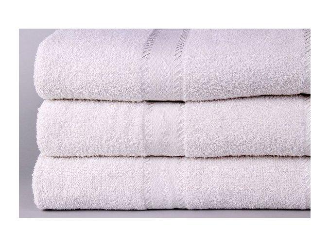 Levný hotelový ručník  50x100