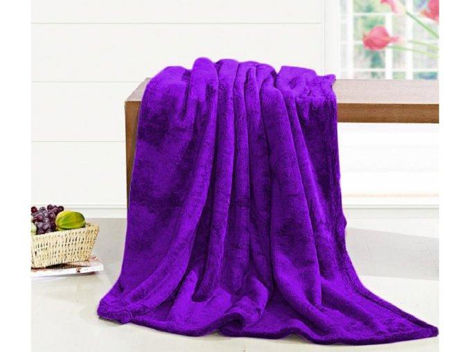 deka 200 220 fialova