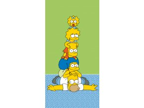the simpsons family tower osuska 1