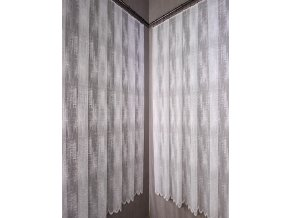 Moderní metrážová záclona Adéla  Metrážová žakarová záclona