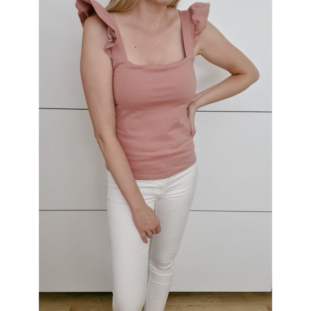 top shelly pink