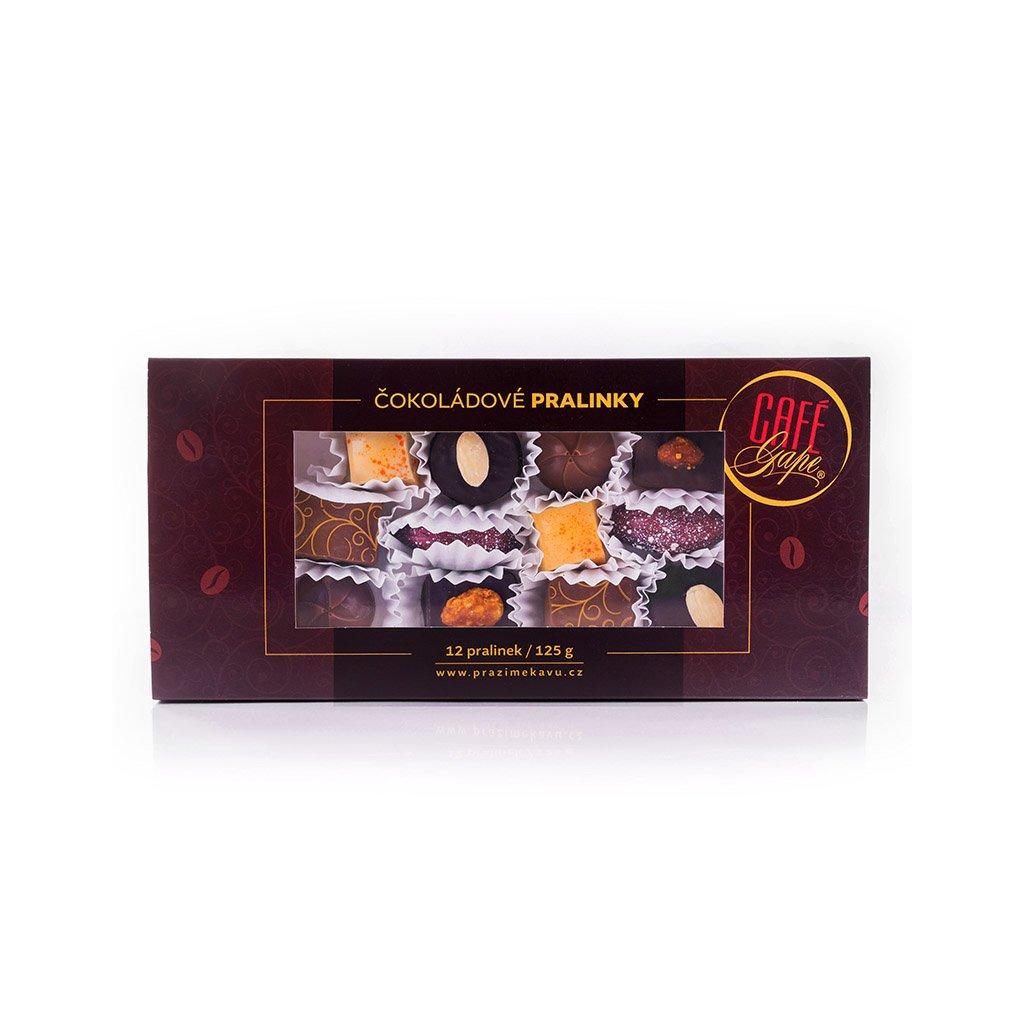 Café Gape Čokoládové pralinky v dárkové kazetě 125 g