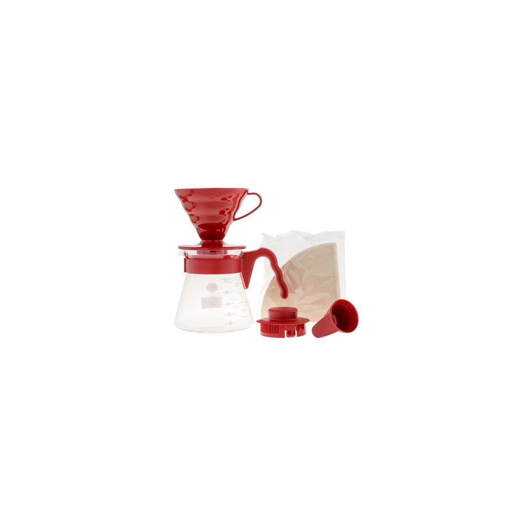 Hario V60 Pour over Kit Red