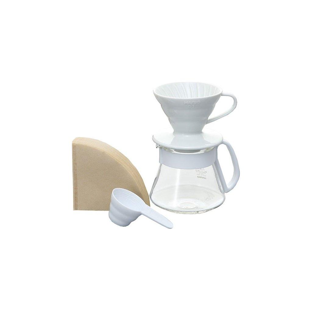 Hario V60 Pour Over Kit White