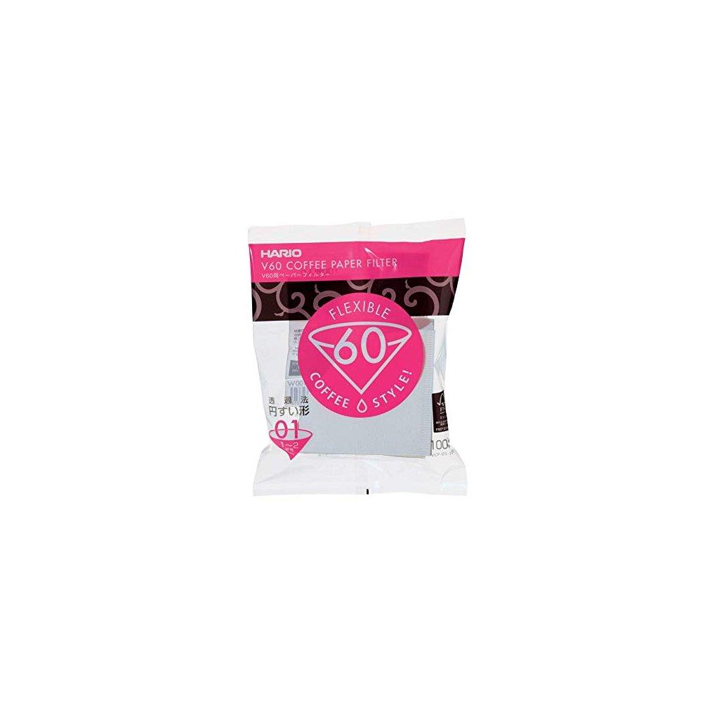 Hario V60-01 papírové filtry