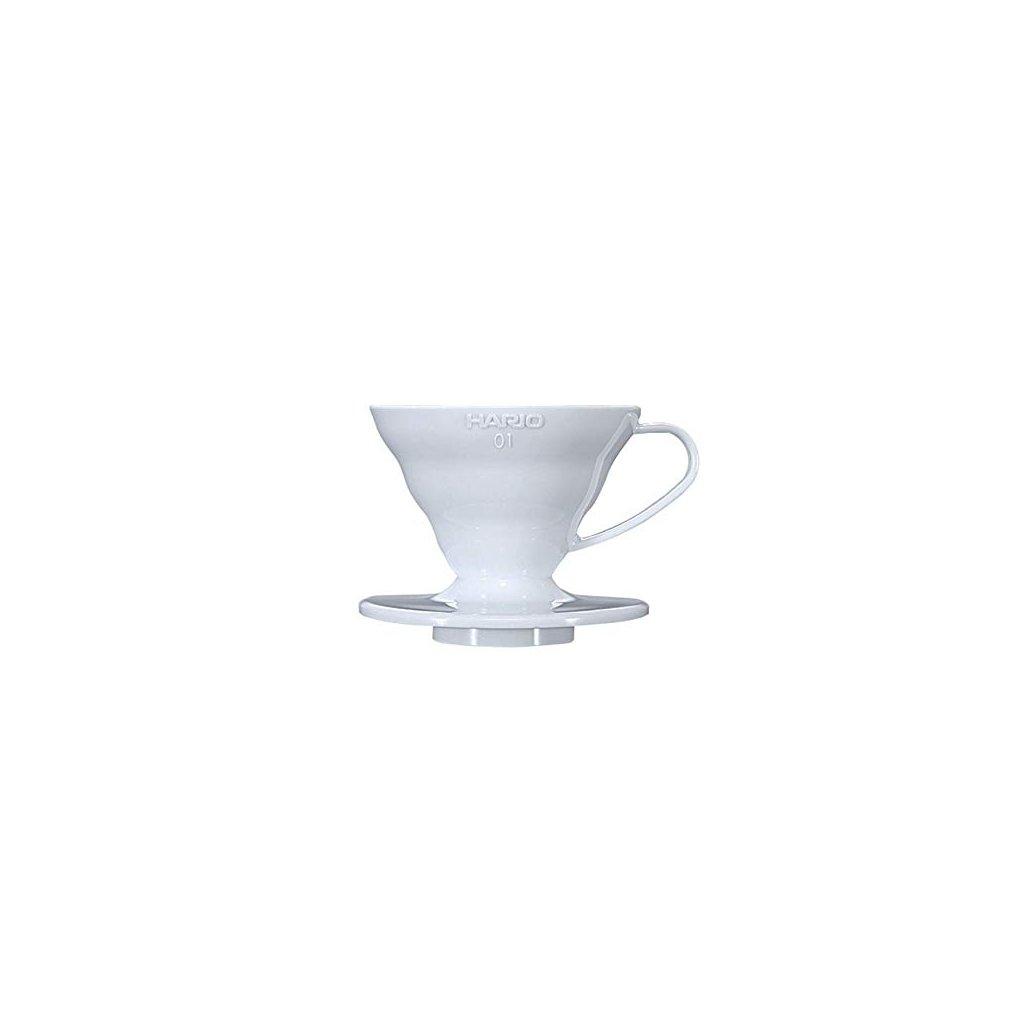 Hario V60-01 Plastic Dripper White