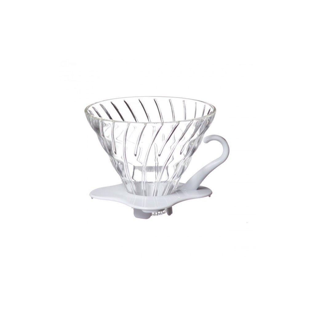 Hario V60-02 Glass Dripper White