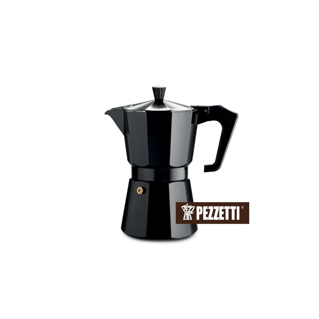 Pezzetti Italexpress 3 šálky/150ml Black