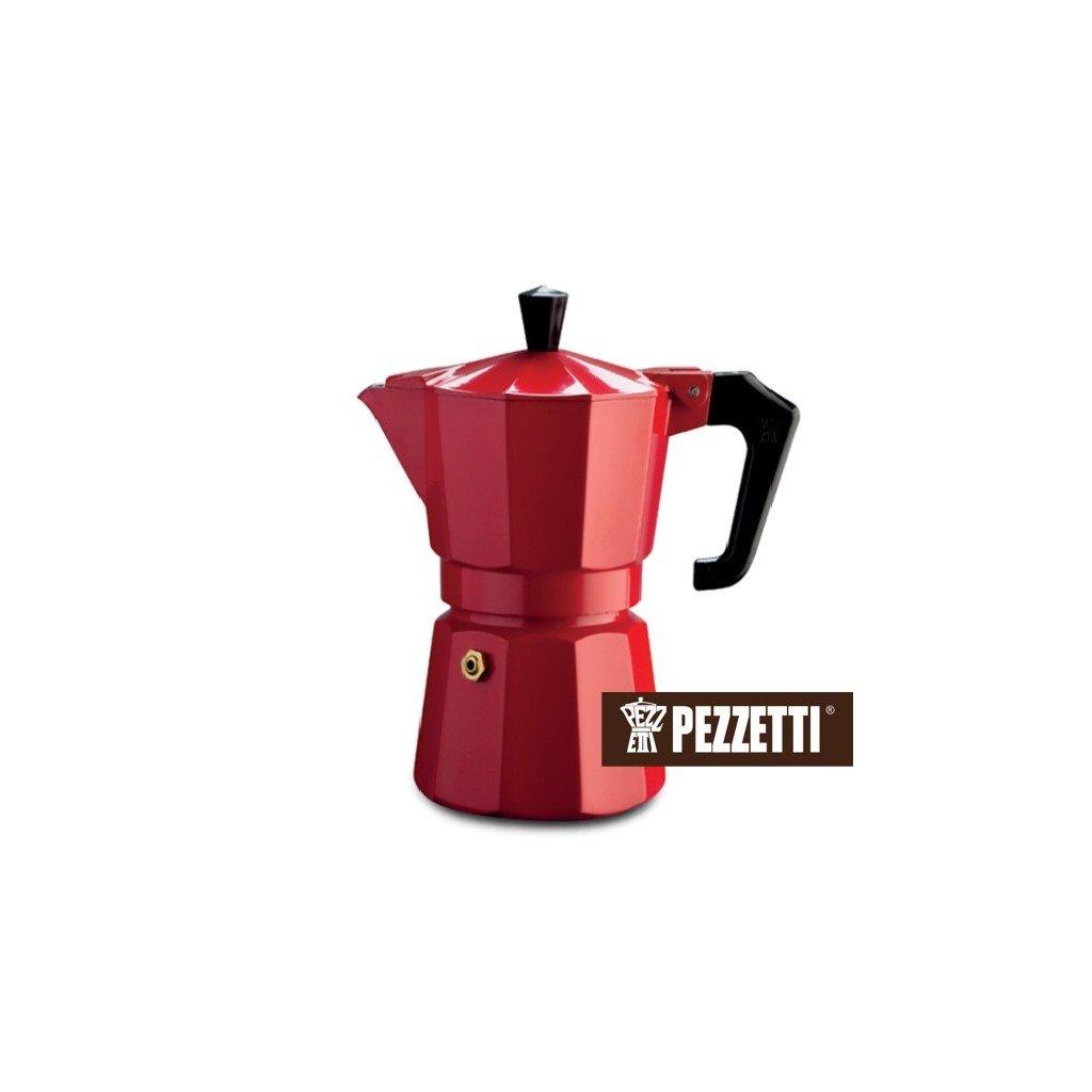 Pezzetti Italexpress 3 šálky/150ml Red
