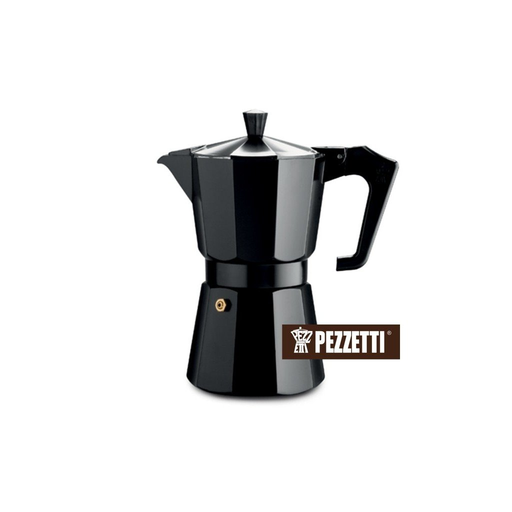 Pezzetti Italexpress 6 šálků/300ml Black