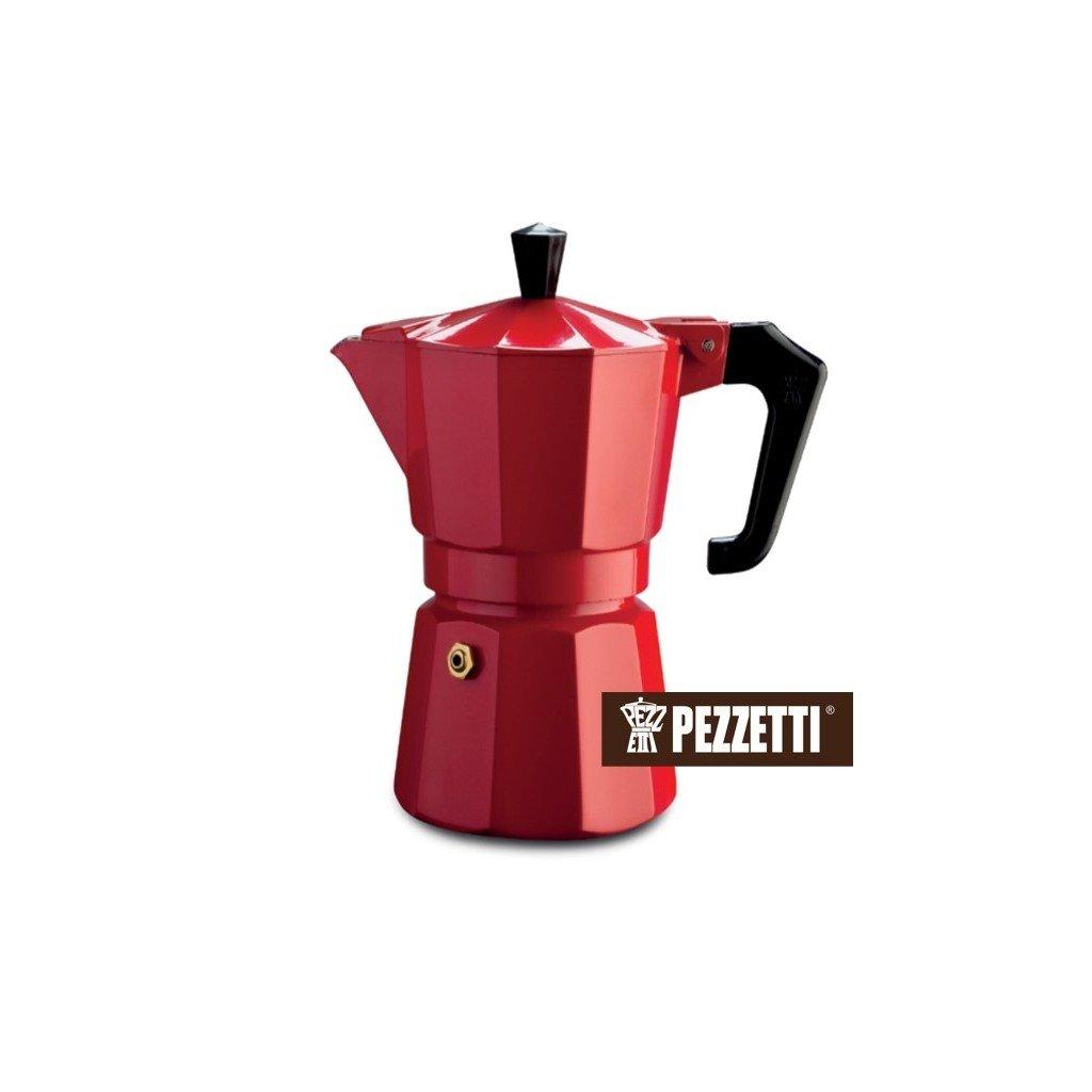 Pezzetti Italexpress 6 šálků/300ml Red